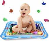 Baby Waterspeelmat vanaf 3 maanden - Inclusief 2 badspeeltjes - Babygym speeltjes - Speelkleed - Speelmat - Watermat - Kraamcadeau tips - Babyshower idee - Baby cadeau - Kraamcadeautje - Speelgoed cadeautjes