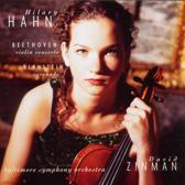 Beethoven: Violin Concerto;  Bernstein / Hahn, Zinman
