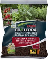 DCM Ecoterra voor Groenten & Kruiden (2,5 ltr)