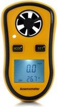 2 in 1 Windmeter (Digitale Anemometer met Thermometer) van B-tech Pro