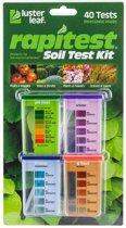Rapitest grondtestkit met 4 x 10 tests ( 40 Capsules )   Ideaal voor iedere tuinliefhebber   Grondtester