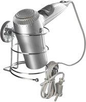 Vacuumloc Milazzo Haardrogerhouder - Inclusief vacuumpomp