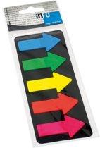 Info Page Markers arrow film 25x45mm, 5 kleuren