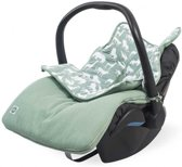 Jollein Safari Comfortbag groep 0+ 3/5 punts forest green