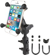 RAM Mount Combination Base met X-Grip Set - Klemarm Kort