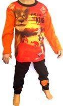 Disney- Lion King - kinder - pyjama - oranje/zwart - maat 110/116