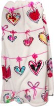BH KIDS Garland Throw Pink 130x170
