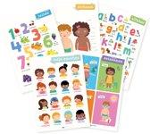 posterset   tellen, lichaam, seizoenen & ABC alfabet
