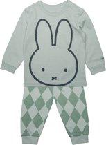 Nijntje, jongens, pyjama groen - maat 98/104