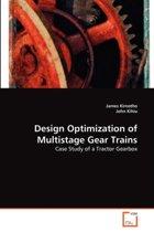Design Optimization of Multistage Gear Trains