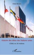 Histoire des idées des Nations unies