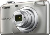 Nikon COOLPIX A10 - Zilver + Tas
