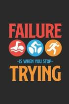 Failure Is When You Stop Trying
