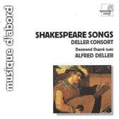 Shakespeare Songs / Deller, Dupre, Deller Consort