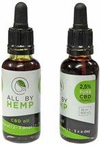 All by Hemp 2,5% CBD-olie (30ml)