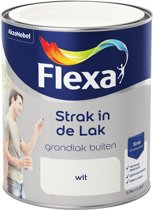Flexa Strak In De Lak Grondverf Wit 0.75 L