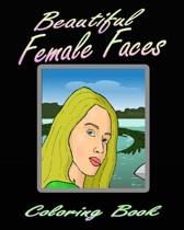 Beautiful Female Faces (Coloring Book)