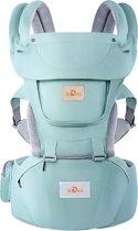 TJ Store® 3 in 1 Blue Ergonomische Baby draagzak - Draagzak - baby draagzak - draagdoek - ergonomische draagzak - baby drager - baby buikzak - buikdrager - baby buikdrager - peuterdraagzak - baby carrier - draagdoeken