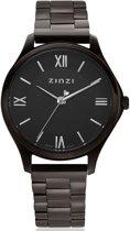 ZINZI Classy Mini ZIW1237 30mm zwart + gratis Zinzi armbandje