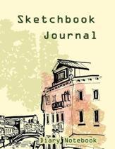 Sketchbook Journal Diary Notebook