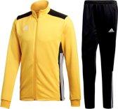 adidas Regista 18  Trainingspak - Maat L  - Jongens - geel/zwart/wit