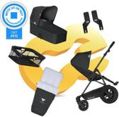 Koelstra Binque Daily Pack - Kinderwagen Compleet - Zwart