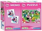 Minnie Memo + Puzzel 60St.