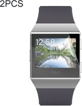 2 PC's ENKAY Hat-Prins voor Fitbit Ionische TPU Full Screen Protector Film