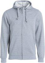 Clique - Sweatshirt met capuchon - Unisex - Maat XXXL - Grijs