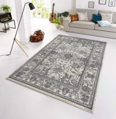 Vintage tapijt Glorious 140x200 cm Grijs & Wit
