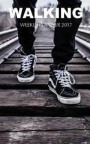 Walking Weekly Planner 2017