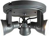LABEL51 - Max - LED Spot - 3-lichts - Burned Steel