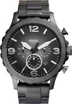 Fossil JR1437 - Horloge - 50 mm - Grijs