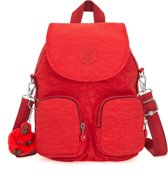 Kipling Firefly Up Rugzak - Active Red
