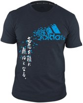 ADIDAS Graphic T- shirt Nightshade/Blue maat XL