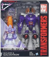 Transformers Generations Titans Return Nucleon en Galvatron