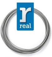 10m High-quality PLA 3D-pen Filament van Real Filament kleur zilver