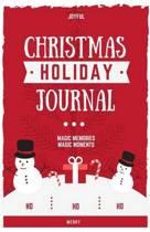Christmas Holiday Daily Journal