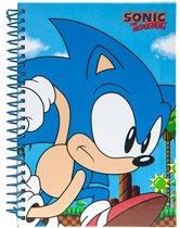Gosh! Designs Notitieboekje Sonic Race A5 Blauw