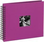 Hama  Fine Art  spiraal roze 28x24 50 zwarte pagina's 113680