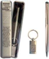 Pen en sleutelhanger giftset letter Z