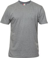 Premium-T hr t-shirt 180 g/m² grijsmelange xl