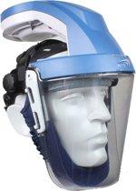 Kite ademluchtvizier, met externe batterij. Hét comfortabele alternatief voor een stofmasker.
