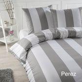 Papillon Perez - dekbedovertrek - eenpersoons - 140 x 200/220 - Grijs