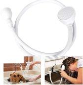 Gootsteen douche met slang - douchekop voor wasbak kranen - Handig voor haren wassen of huisdieren wassen