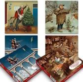 setje 1: Marius van Dokkum kerstkaartenboxje (20 krt)