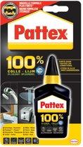 Pattex 100% lijm tube van 50 g op blister
