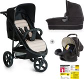 Hauck Rapid 3 Plus Trio Set - Kinderwagenset - Grijs/Beige
