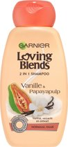 Garnier Loving Blends Vanille & Papayapulp Shampoo - 250 ml