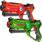 2x Light Battle Active lasergame pistool | Lasergame spel – Groen en Rood